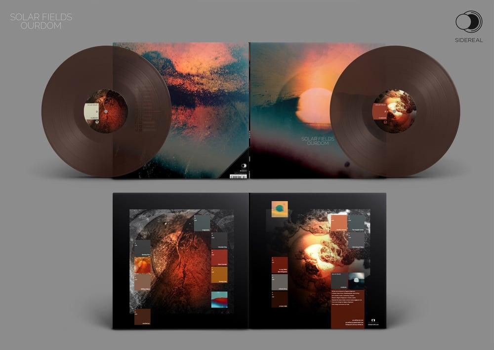 Image of Solar Fields 'Ourdom' Double LP  (last copies for sale 3 colors options!)