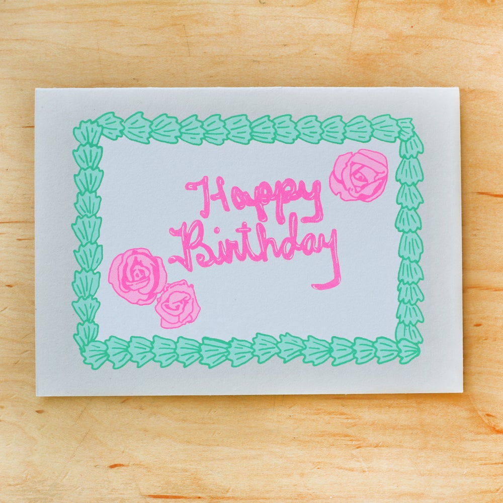 Image of Birthday Sheet Cake