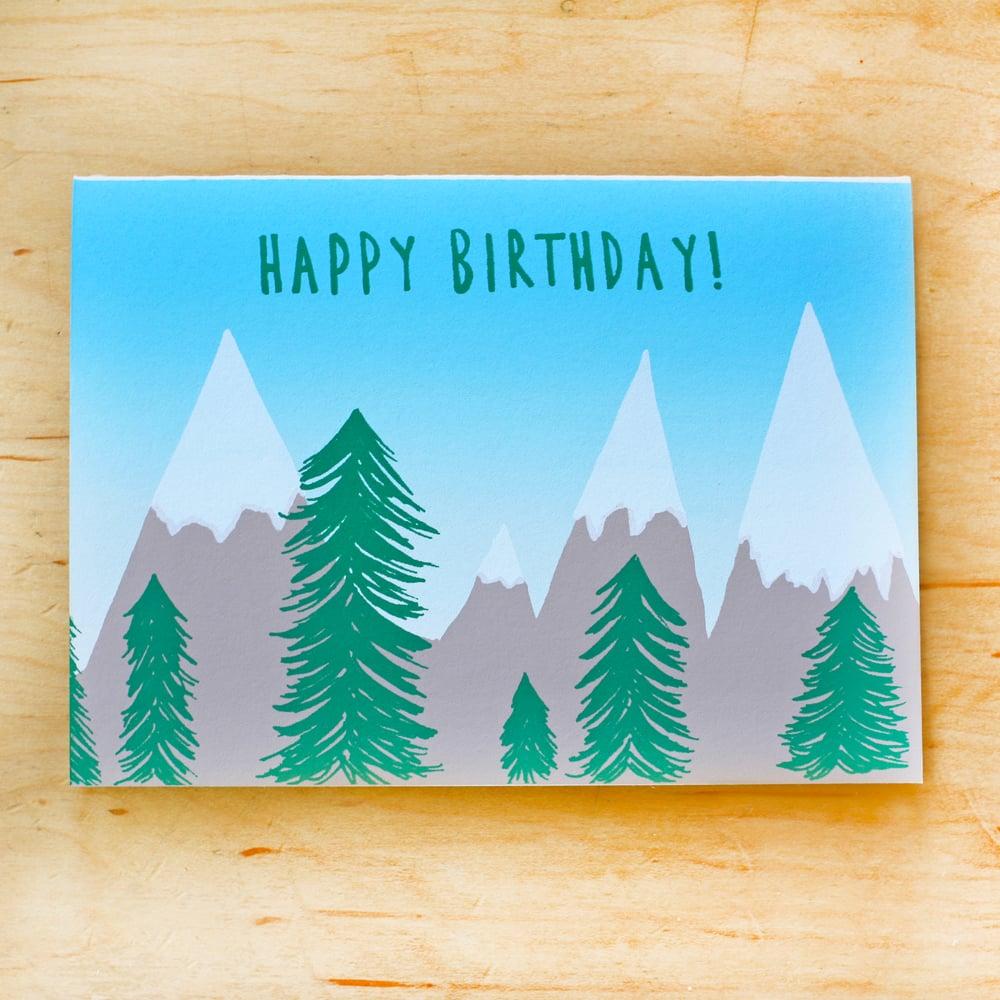 Image of Birthday Mountains