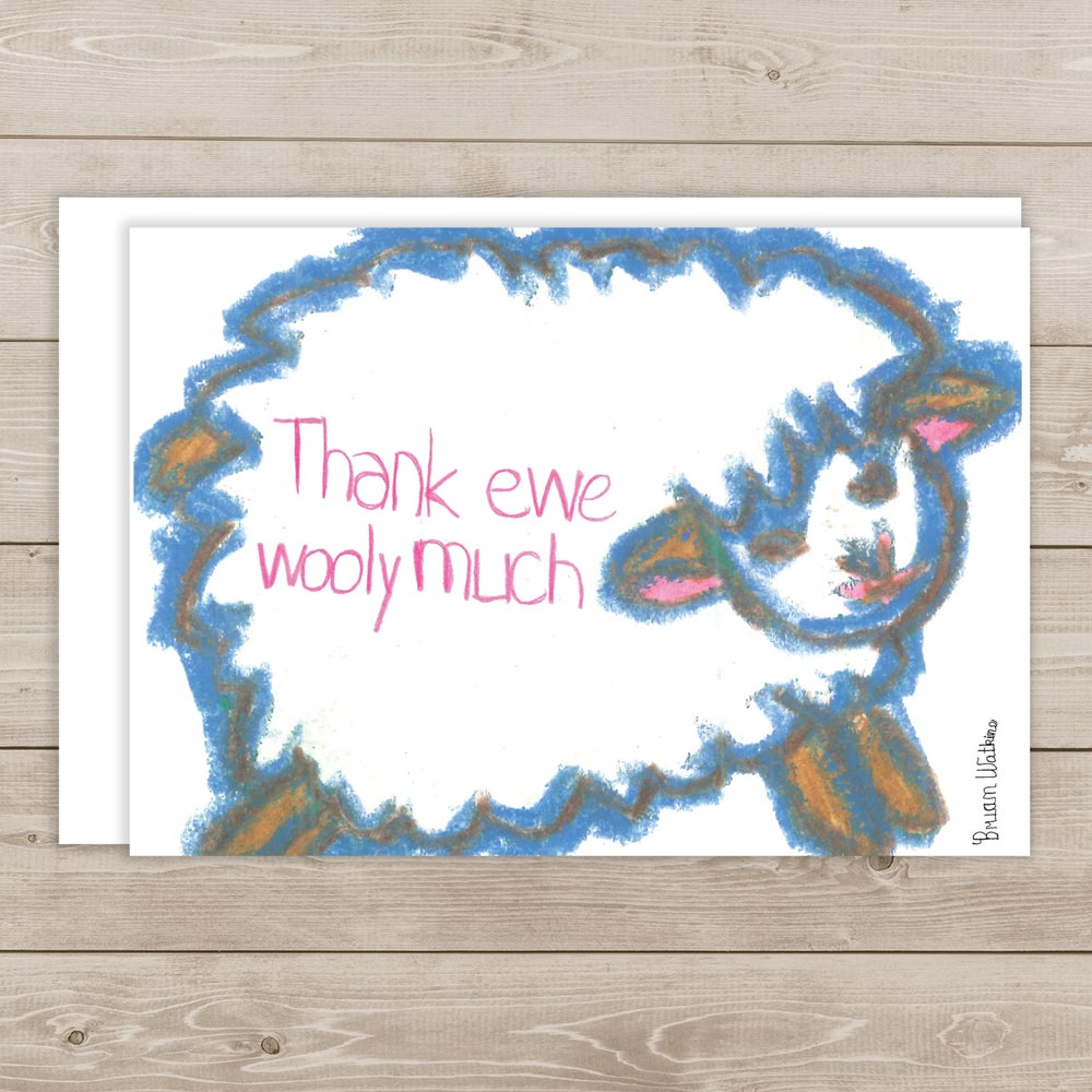 Image of Thank Ewe Wooly Much