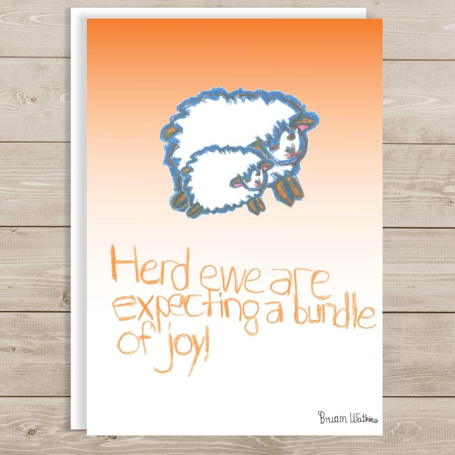 Image of Herd Ewe are Expecting a Bundle of Joy!