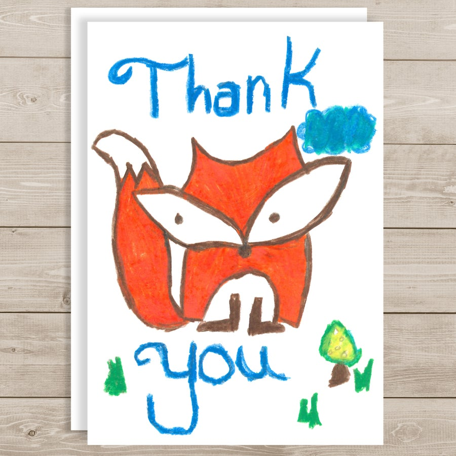 Image of Thank you - Fox