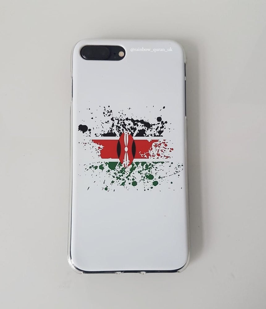 Image of Country flag print