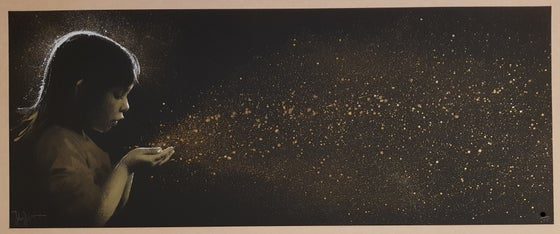 Image of SUPER NOVA GOLD DUST - JOHN DOE - 8 COLOUR HAND FINISHED SCREENPRINT - LTD ED 25