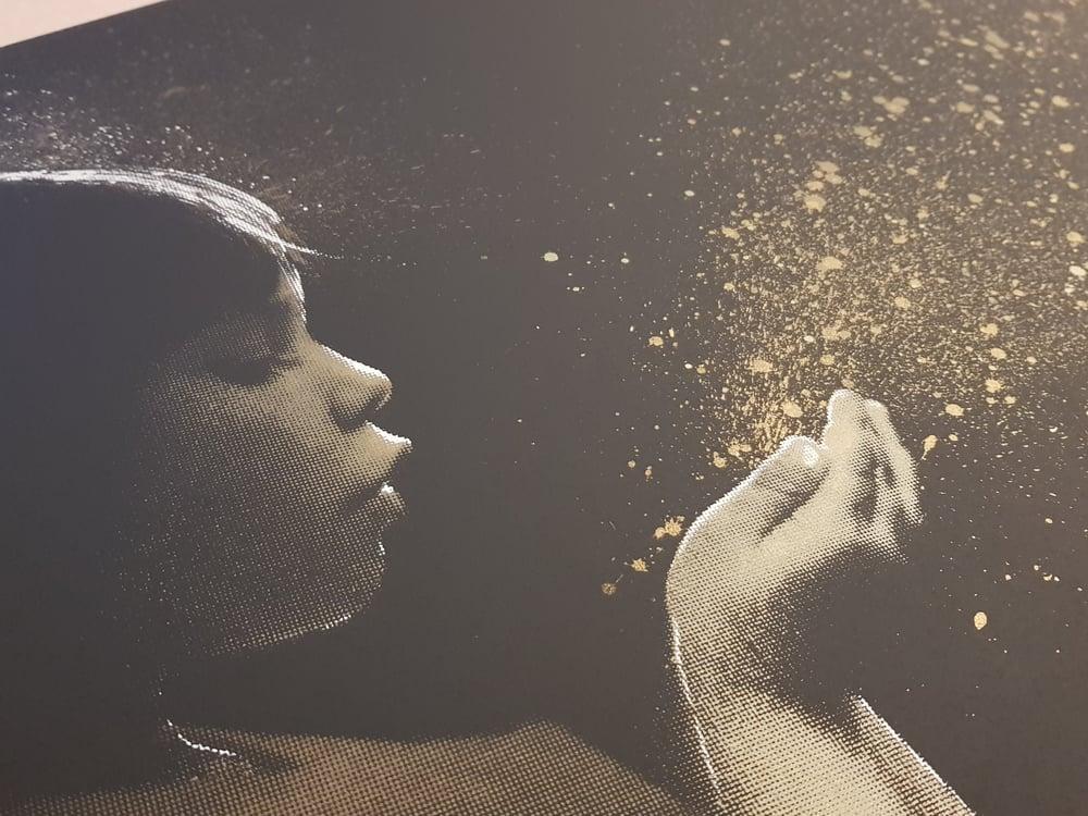 Image of SUPER NOVA GOLD DUST - JOHN DOE - 8 COLOUR HAND FINISHED SCREENPRINT - LTD ED 25