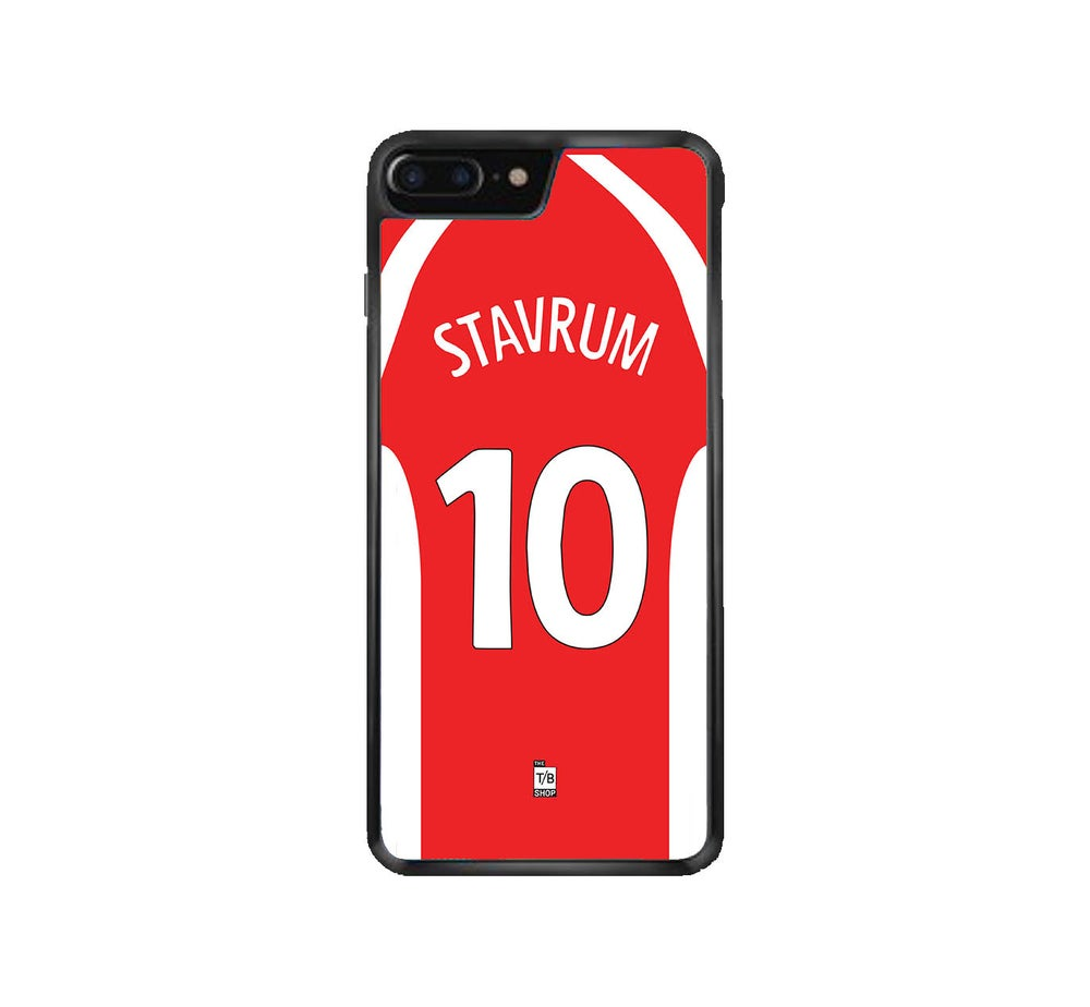 Image of Legendary Arild Stavrum 2000/01 shirt phone case