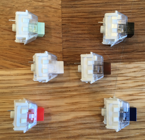 Image of Kailh BOX Switches (Retooled Summer 2018 version)