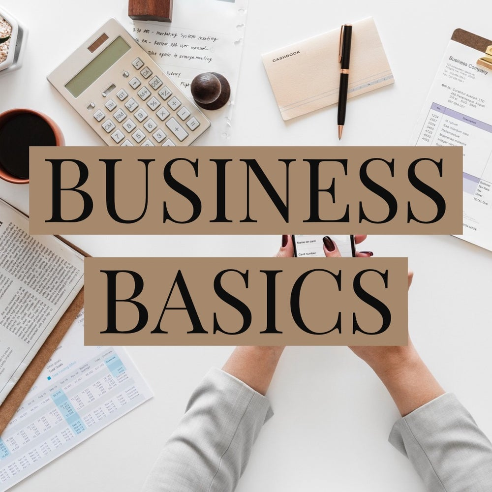 Image of Workshop: Business Basics