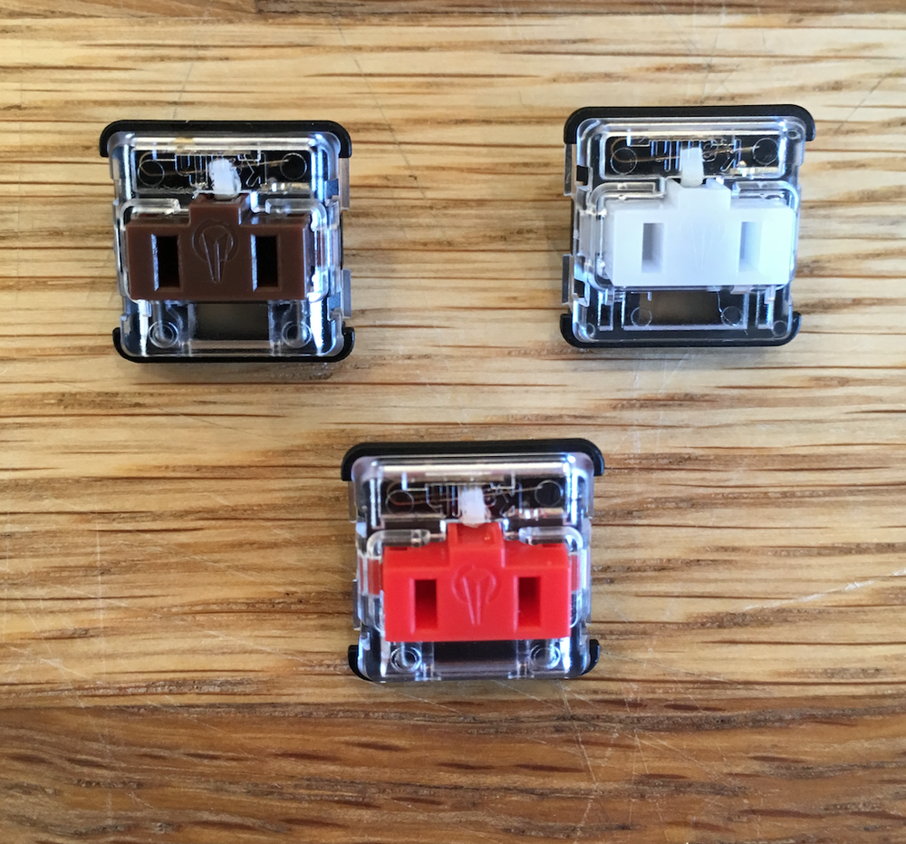 Image of Kailh Low Profile 1350 (Chocolate) Switches