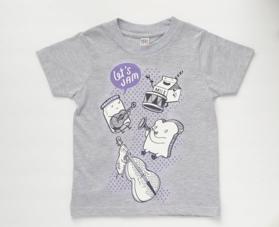 Image of LET'S JAM kids' tee