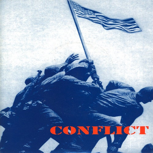 Image of CONFLICT - These Colours Don't Run CD Single