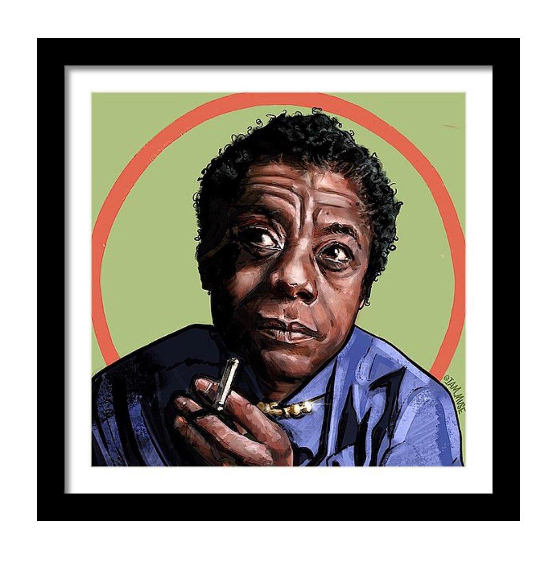 "Image of ""James Baldwin"" Limited Edition Prints"