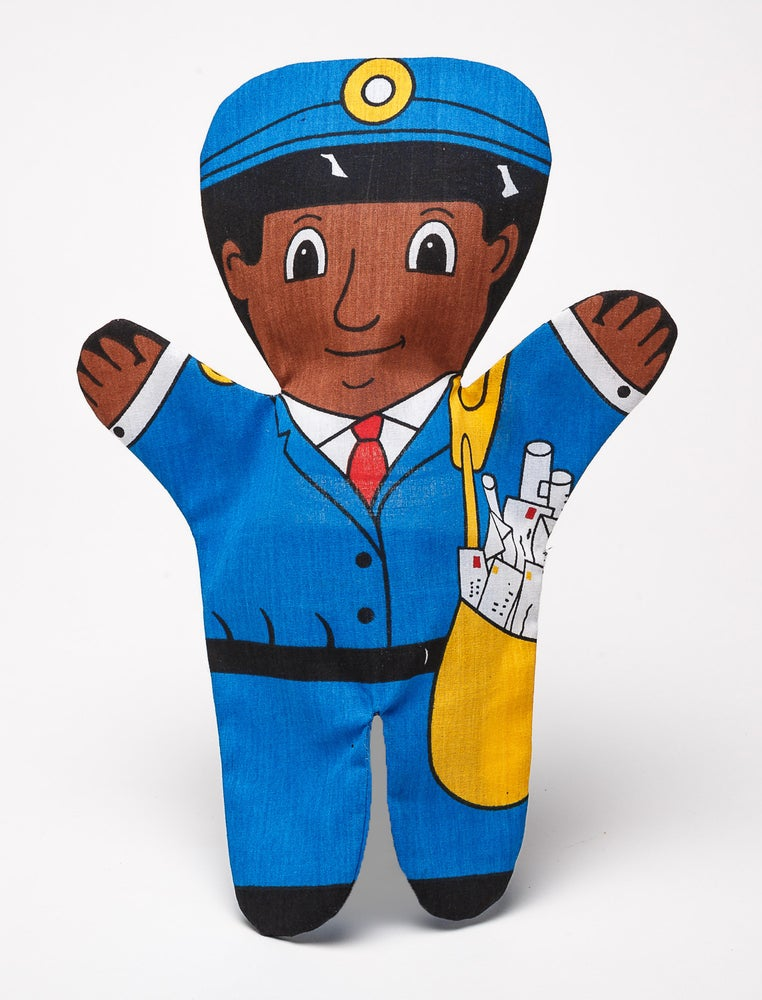 Image of Postal Worker Puppet