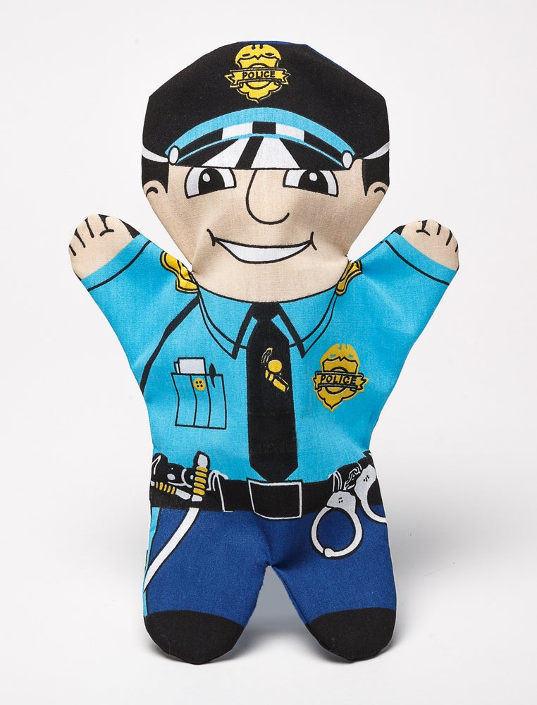 Image of Policeman Puppet