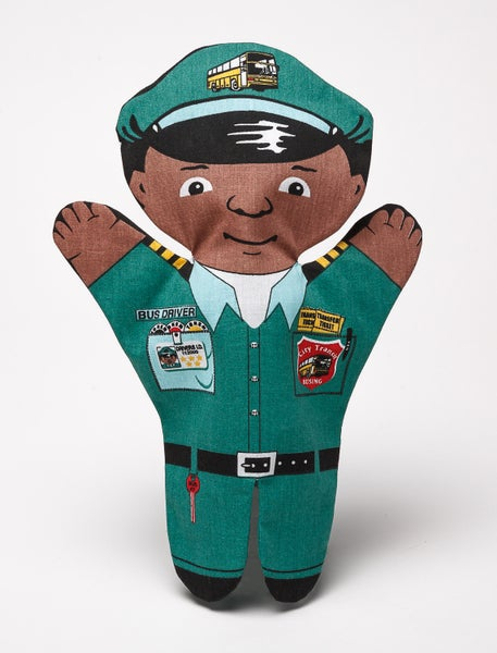Image of Bus Driver Puppet