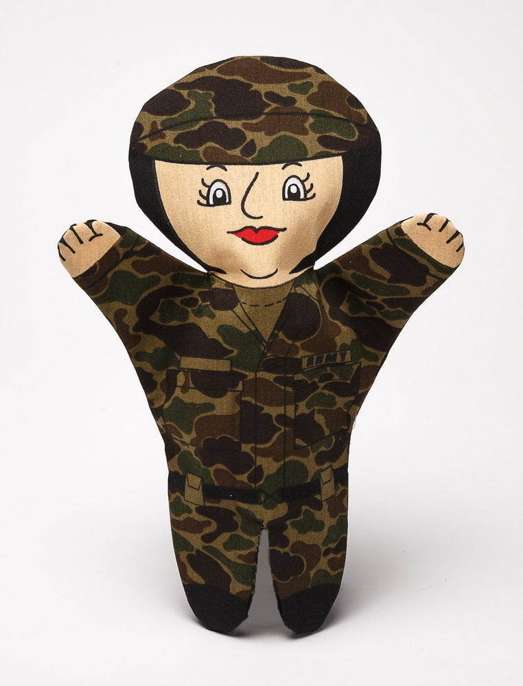 Image of Army Puppet