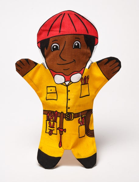 Image of Construction Worker Puppet