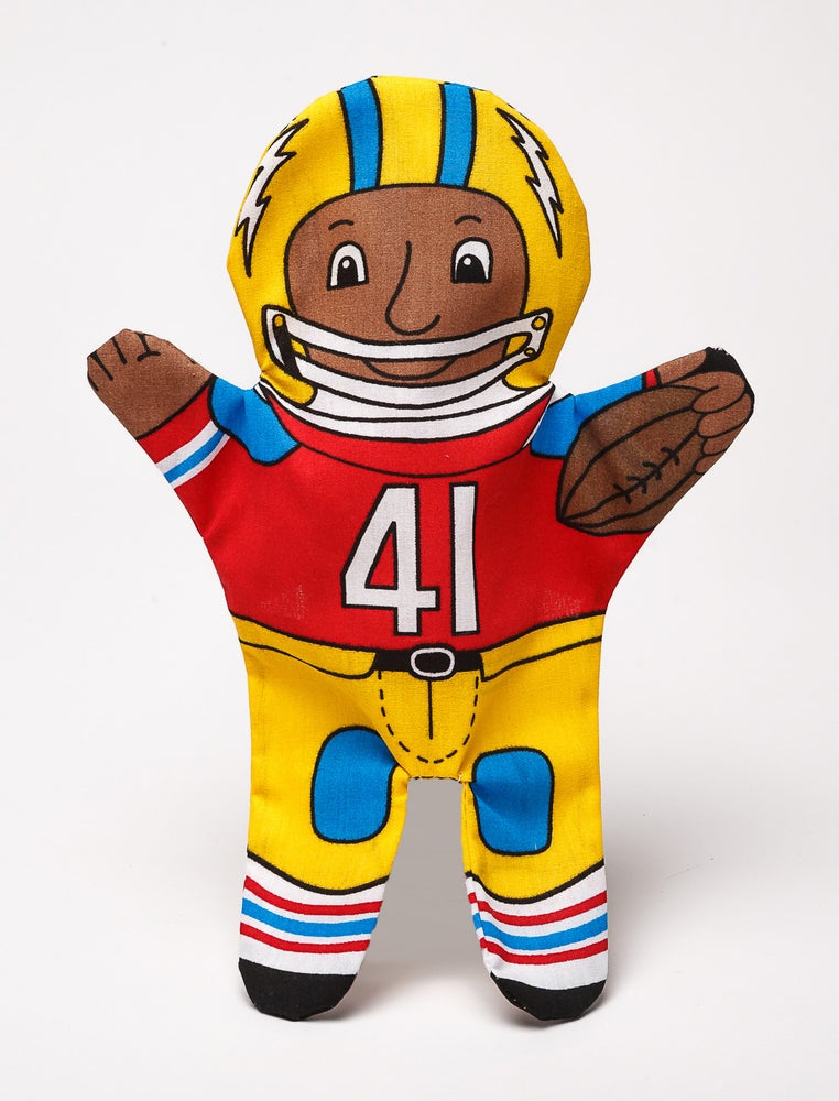Image of Football Player Puppet
