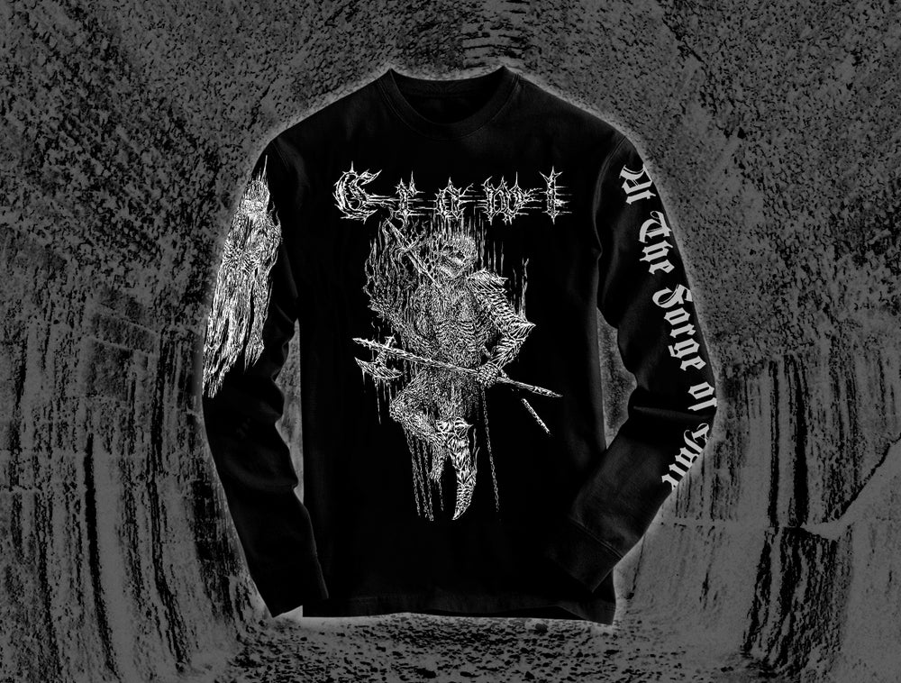 Image of At The Forge of Hate - Absolute Misery 2019 Tour Longsleeve