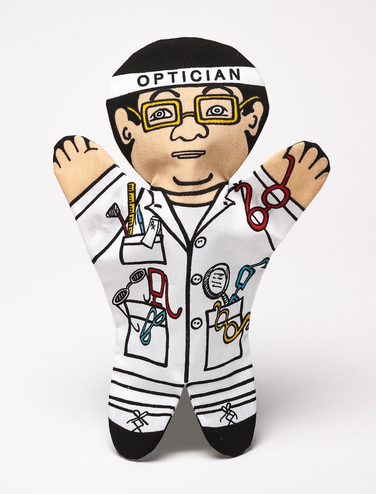 Image of Optician (Single Puppet)