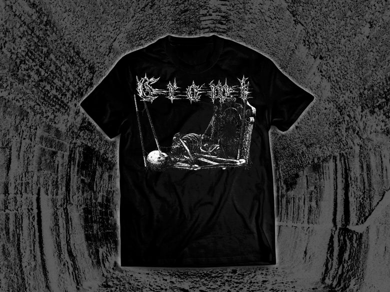Image of Forgotten Corpse - Absolute Misery 2019 Tour T-Shirt