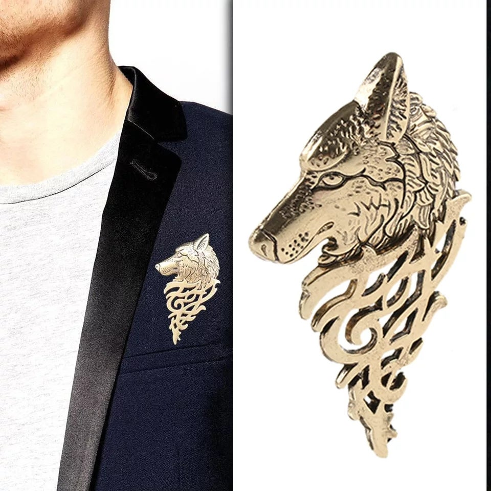 Image of WEREWOLF BROOCH