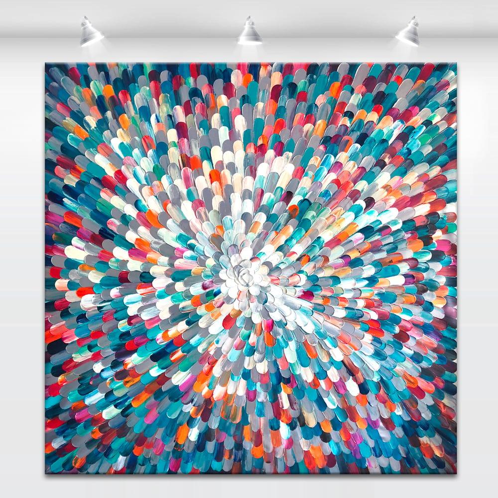 Image of Universum XII - 160x160cm