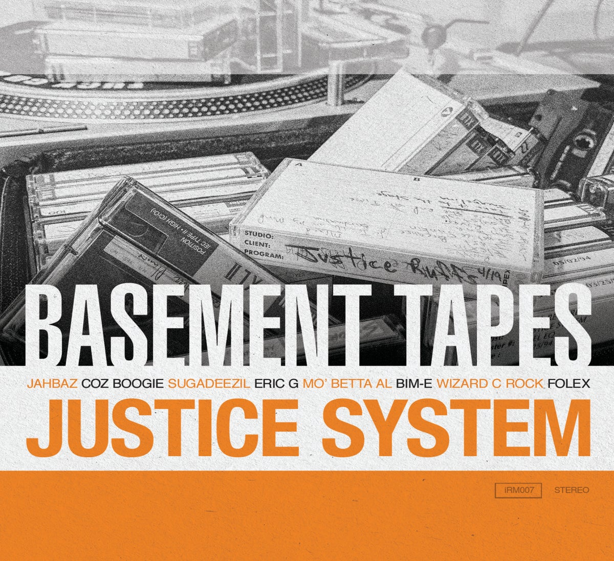 Image of Justice System - Basement Tapes - CD