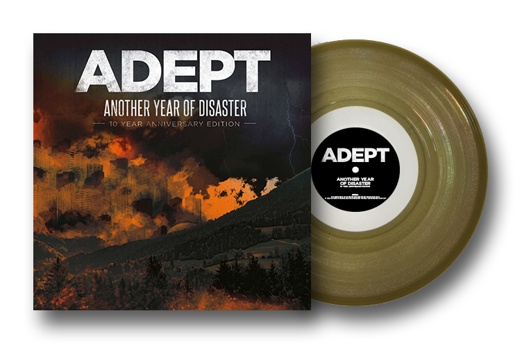 "Image of 12"" Vinyl - AYOD10 Color (Gold) Limited Edition"
