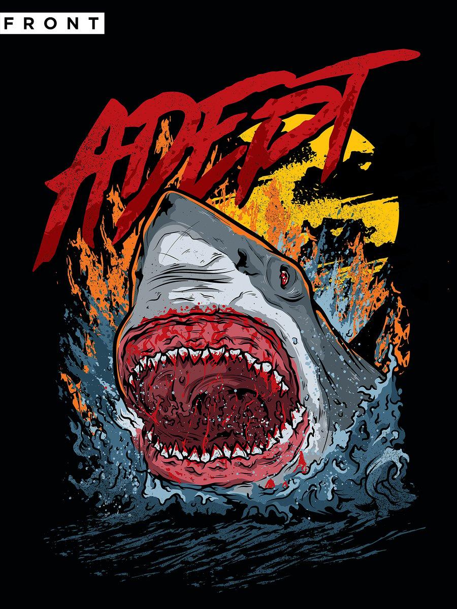 Image of T-Shirt - Shark! Shark! Shark!