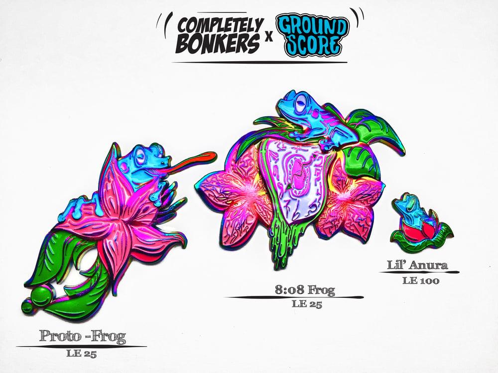Image of Deja Frog Series - Blue