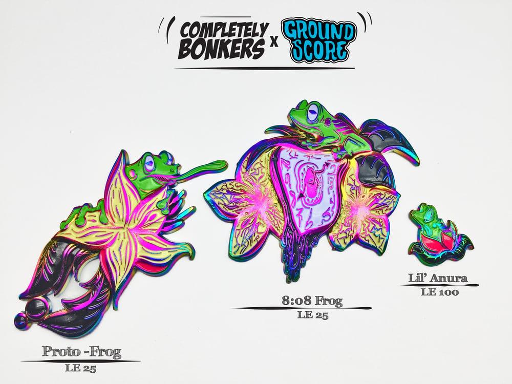 Image of Deja Frog Series - Green