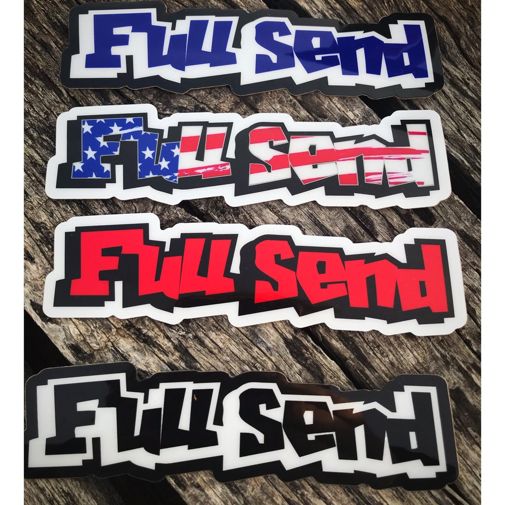 Image of Full Send Decal