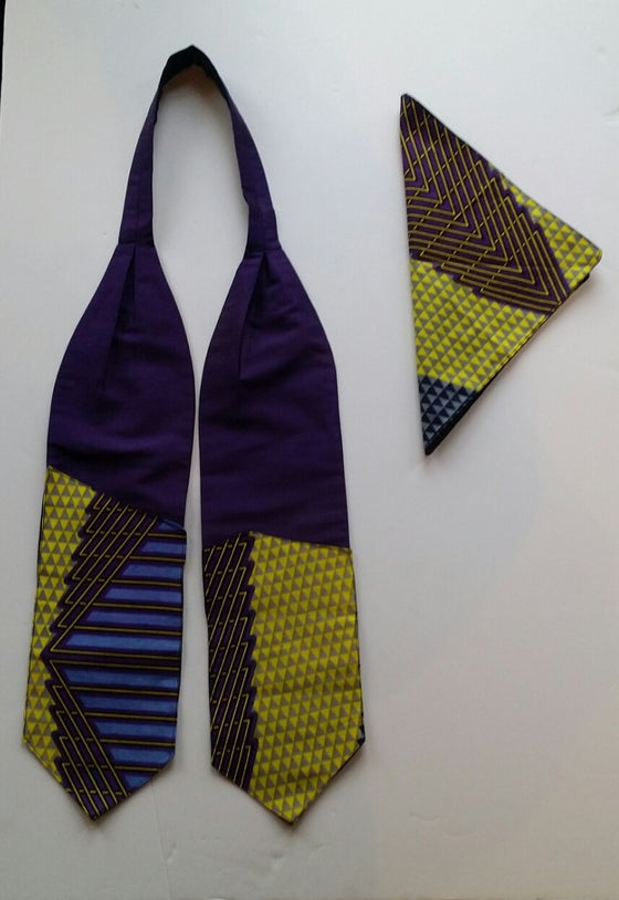 Image of Silk Cravat & Pocket Square Sets