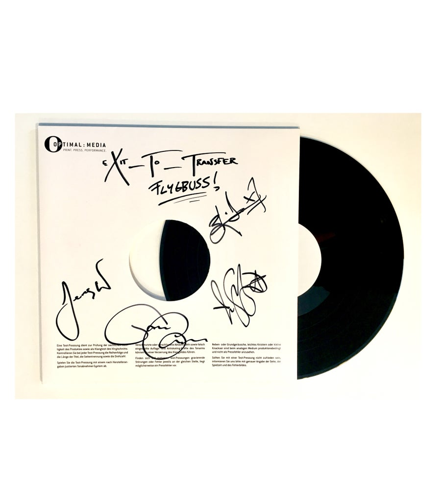 Image of Corroded - Exit To Transfer (Signed LP Test Pressing)