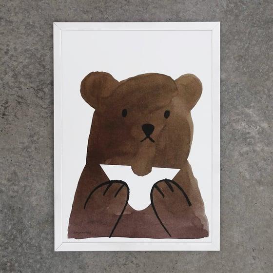 Image of Print | Butty Bear