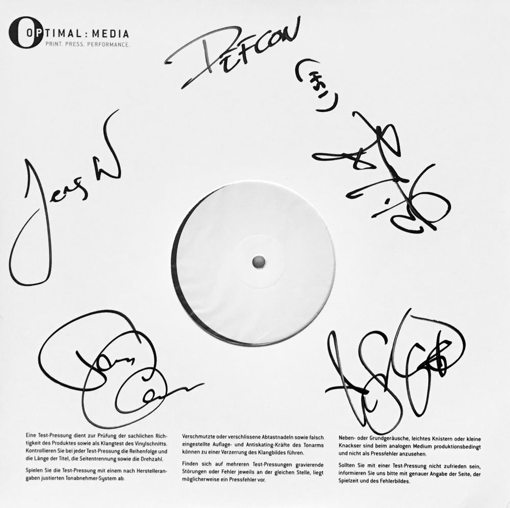 Image of Corroded – Defcon Zero (Signed LP Test Pressing)