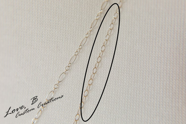 Image of Sterling Silver Sturdy Cable Chain Necklace