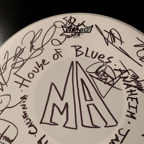 Image of Jan 24 2019 HOB Anaheim Autographed Snare Drumhead