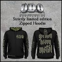 Strictly limited official U.D.O. zip hoodie