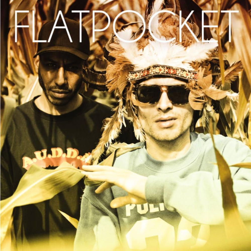 Image of Flatpocket (Twit One & Lazy Jones) - Geldpfundphantasyen - LP (MELTING POT MUSIC)