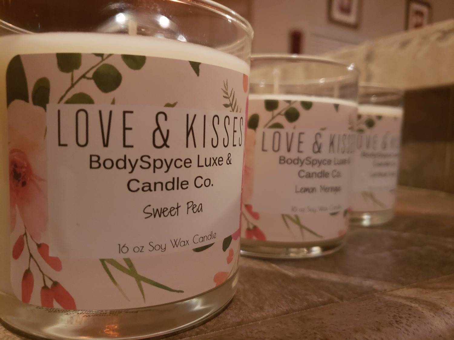 Love & Kisses Candles