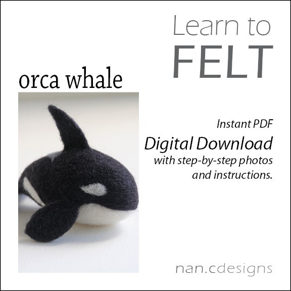 PDF Orca Whale Felting Instructions