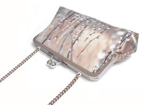 Image of Willow blossom clutch bag