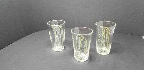Image of Green twisty Cane Pint Glass