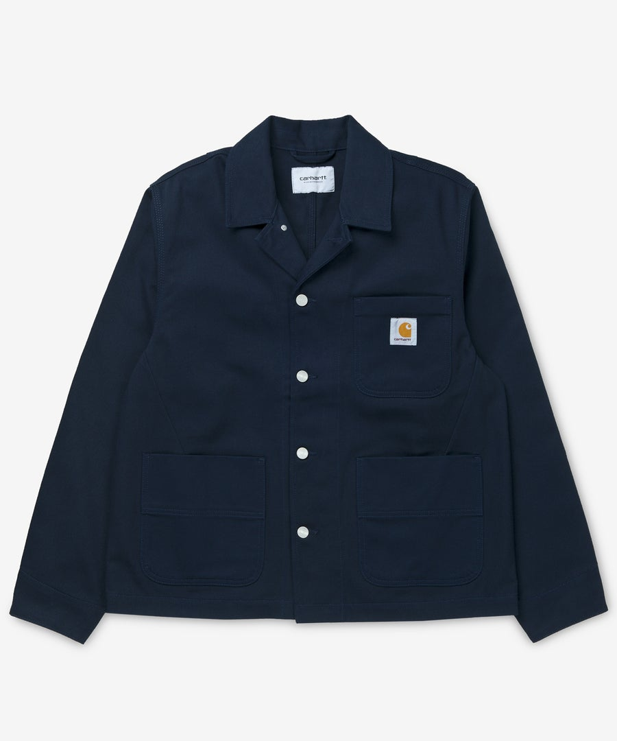 Image of CARHARTT WIP_CHALK JACKET (RIGID) :::DARK NAVY:::