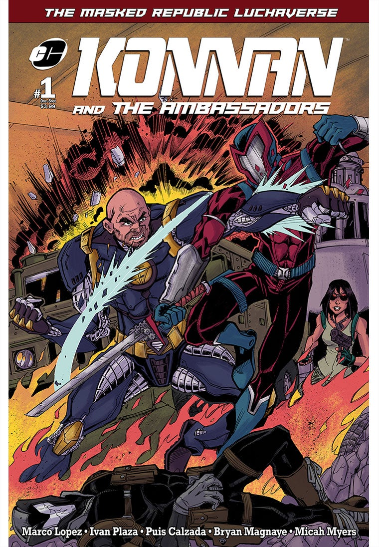 Image of Masked Republic Luchaverse: Konnan & The Ambassadors #1 One-Shot