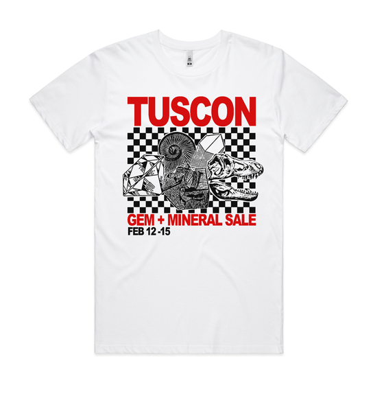 Image of TUSCON Gem + Mineral Sale Shirt