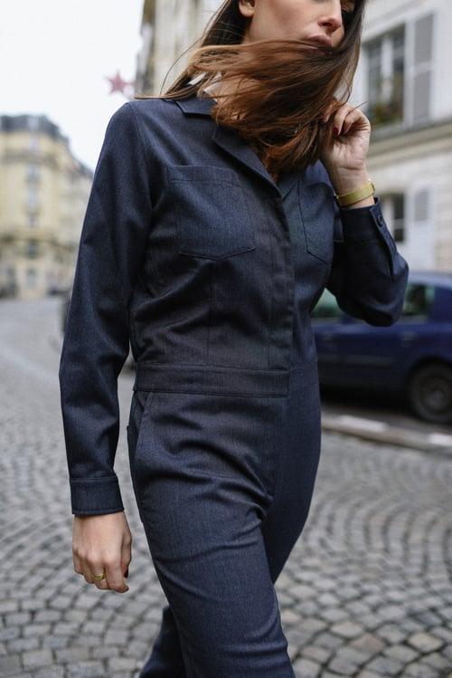 Image of COMBINAISON ELISA - MARINE