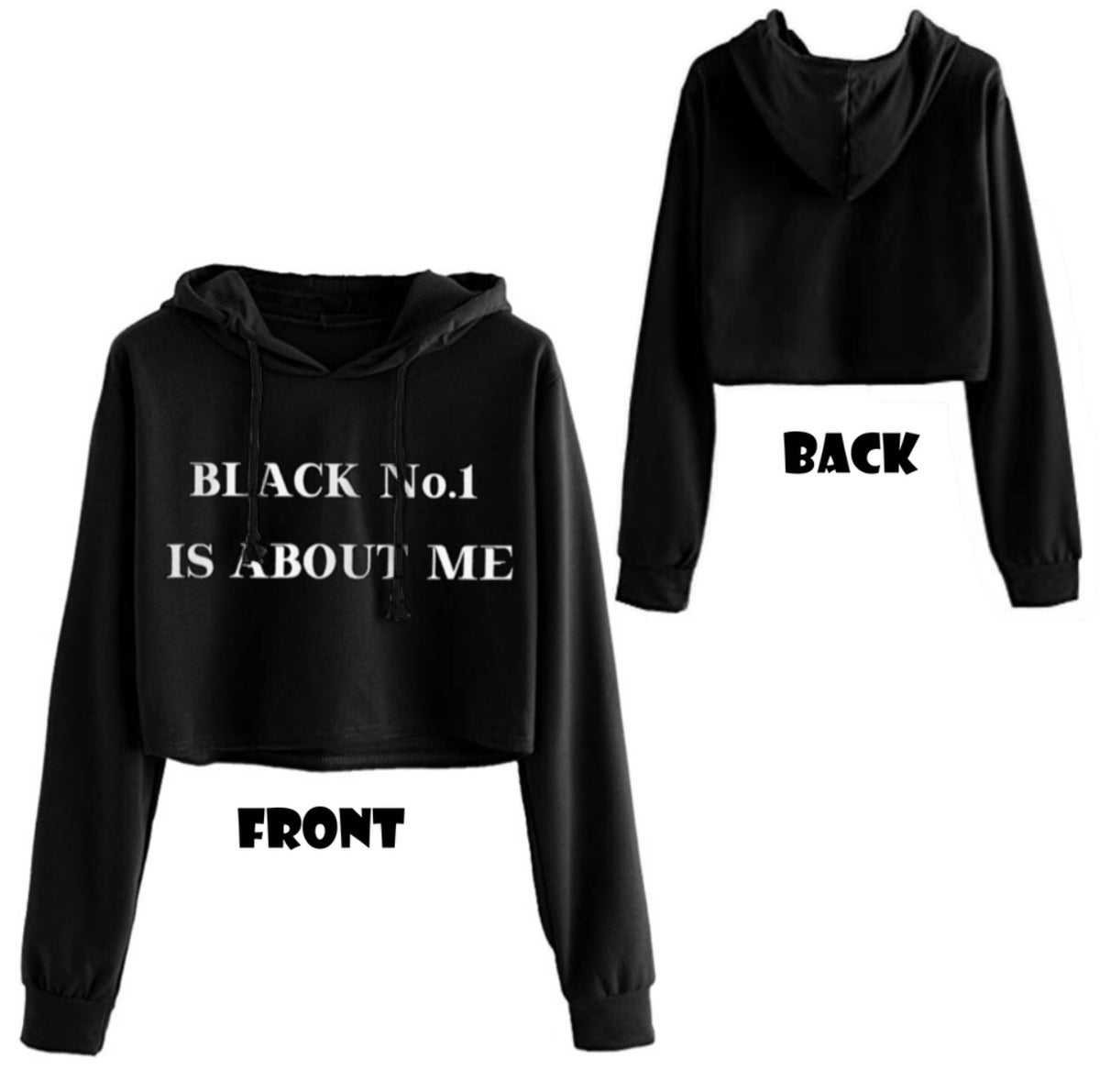 Image of No.1 Cropped Hoodie